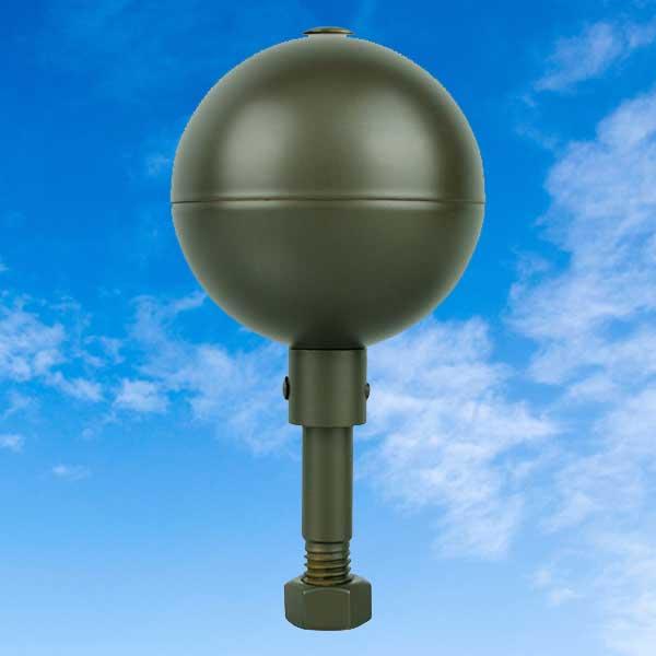 Bronze Aluminum Ball Topper